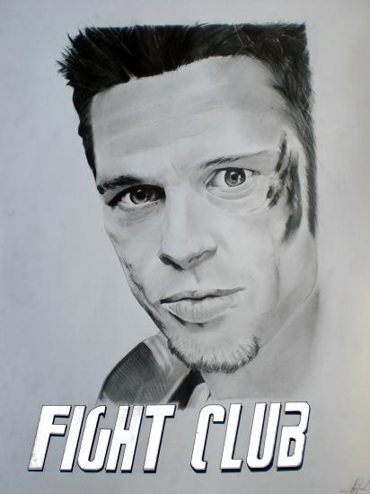 Brad Pitt by Alguy